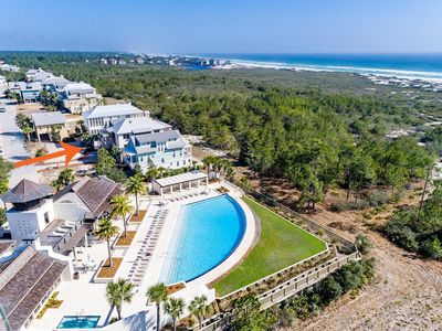 Photo for Cypress Rose: Spectacular Gulf Front Beach House! Panoramic Gulf Views!