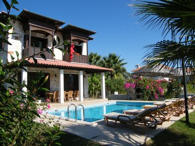 Photo for Stone built villa with private pool in beautiful surroundings.