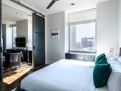 Photo for 8th Ave Luxury Loft - One Bedroom Apartment, Sleeps 4