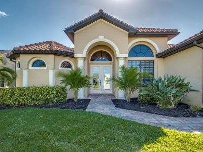 Photo for Stunning newly built villa in a prime location of Cape Coral with access Gulf of Mexico