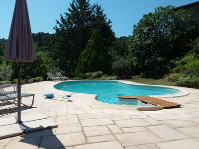 Photo for Nice villa all mods cons, luxurious services, directly on the Cevennes
