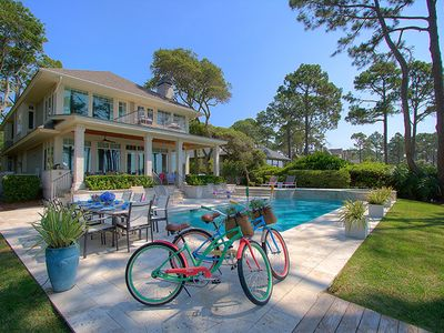 Photo for 38 Canvasback - Oceanfront Luxury Home in Sea Pines w/ Private Pool & Spa