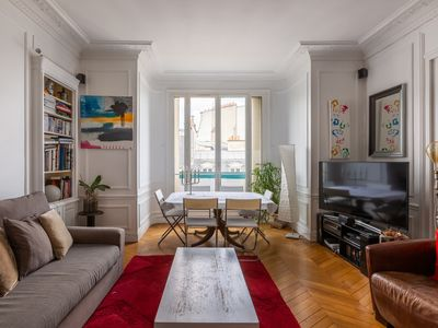 Photo for Balcony Bliss steps from the Bois de Boulogne - Three Bedroom Apartment, Sleeps 8