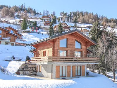 Photo for Chalet Champagne for 9 people with Sauna