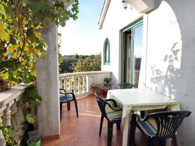 Photo for Two bedroom apartment with terrace and sea view Sukošan (Zadar)