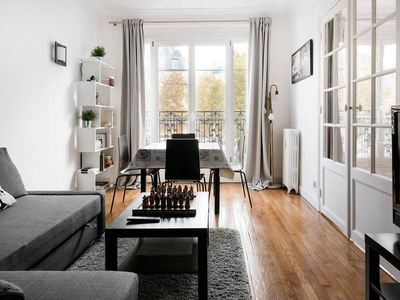 Photo for Bright Champerret Apartment Fits 4 in Paris 17th!