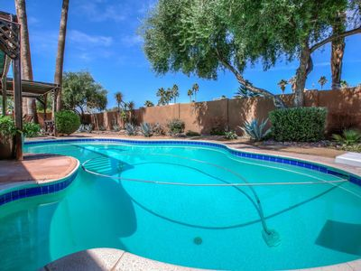 Photo for NEW LISTING! Hot tub & pool at this bright vacation home w/outdoor firepit