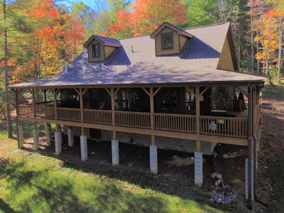 Photo for Brand NEW LUXURY Cottage ~ 23Acre Private Estate ~ Hot Tub ~ 8 miles to Downtown
