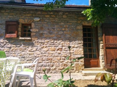 Photo for Detached house with garden in the village of Quézac