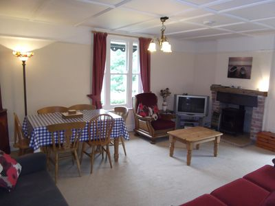Photo for A cosy, traditional two-bedroomed cottage with log burner and central heating.