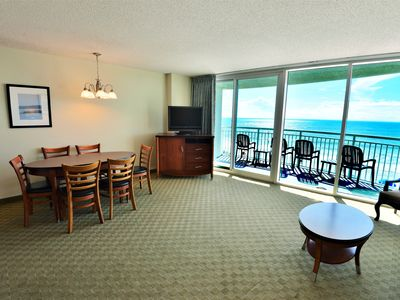 Photo for Amazing luxury Ocean Front 2BD/2BA Condo,  in the heart of MB