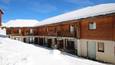 Photo for PARC AUX -CH05- STARS WITH POOL AND SAUNA Chalet-dup