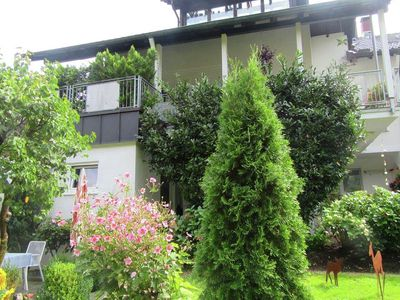 Photo for Beautiful apartment near Baden-Baden with covered terrace and garden