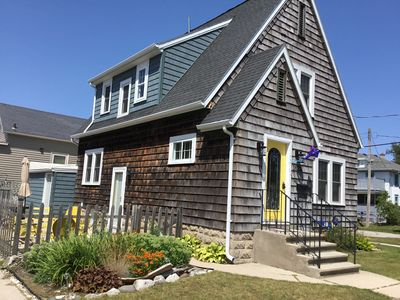 Photo for Charming Cape Cod Style Home - Blocks from Sandy Beach, Town, Bike Trail