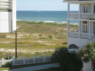 """Photo for CottageVacations4u """"SEA ESCAPE""""- ocean view- pool club- 200 FT to beach"""