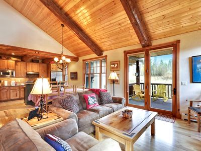 Photo for Cabin at Porcupine Ridge by WPLCo | Cabin Beauty | New Kitchen | Time to Unwind!