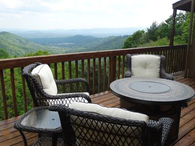Photo for Stunning views! Large decks Romantic getaway Privacy Secluded 3 miles from town