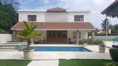 Photo for 5BD Guest-Friendly Luxury Villa  near Beach, with Pool and Billiard