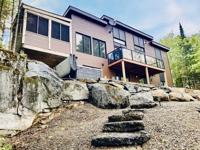 Photo for Hygge Overload! Panoramic Lakefront Cottage w/ Spa