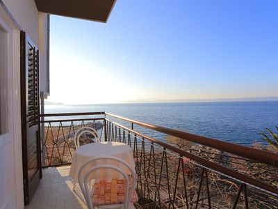 Photo for Four bedroom apartment near beach Podgora, Makarska (A-2614-b)