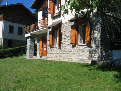 Photo for Valle Maira - House in the pine forest of Roccabruna