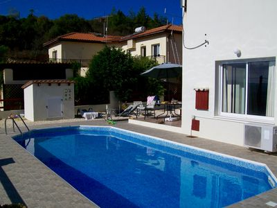 Photo for Peaceful Detached Villa, Private Pool, Overlooking Olive Groves/Nature Reserve