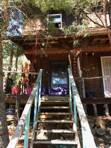 Photo for Unique, Atmospheric Cabin in Taos Canyon on Enchanted Circle, yet close to town!