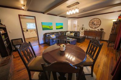 Living Room and Game Table