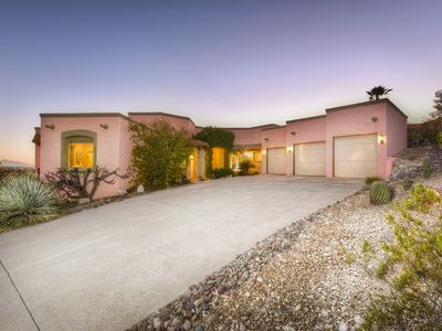 Photo for Custom foothills home w/ gorgeous 360 views, private hot tub & patio