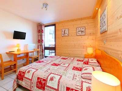 Photo for Apartment 318 m from the center of Tignes with Lift, Parking, Internet, Washing machine (98713)