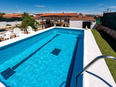 Photo for 3 bedroom Villa, sleeps 6 in Santa Oliva with Pool, Air Con and WiFi