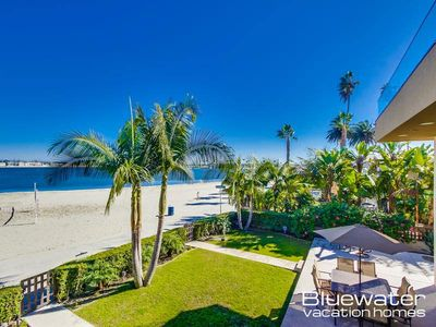 Photo for Luxury condo with grass yard-Waterfront Master Over Sail Bay