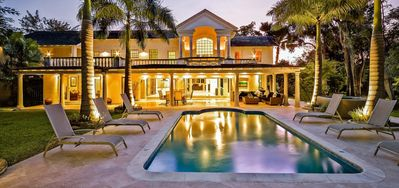 Photo for Amberley House  -  Beach Front - Located in  Exquisite Sandy Lane with Private Pool