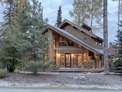 Photo for Ski-in, Ski-out, large open concept floorplan, floor to ceiling windows, hot tub