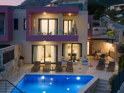 Photo for New modern villa with private pool and amazing view!