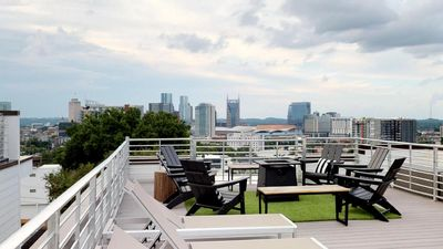 Photo for Treat yourself to a Roof Deck SKYLINE View from this Modern Marvel.