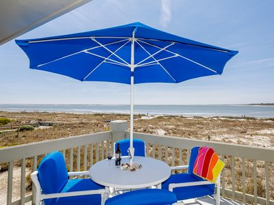 Photo for BEACH! *5 Stars* Best 2nd Flr Corner * Open Deck *Amenity Cards * Fido Friendly