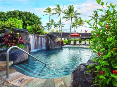Photo for Beautiful One Bedroom Condo at Kauai Coast Resort (Available Dec 22- 29,2019)
