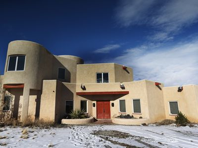 Our custom home in Taos at the Taos Country Club.