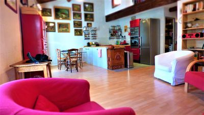 Photo for Beautiful and spacious apartment of 87 m2 with terrace in the heart of the city