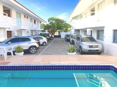 Photo for Apt 1 bedroom furnished 600 m from the BEACH.