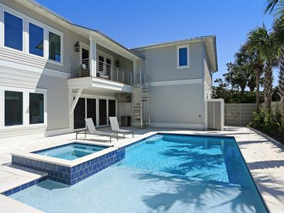 Photo for Reduced Summer Rates!!!~Great Private Pool~Steps to Beach!