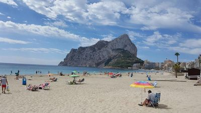 Photo for Apartamento Topacio IV 25A - Playa, Calpe, Costa Blanca
