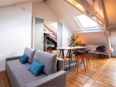 Photo for Charming studio close to train stations near Old Lille – Welkeys