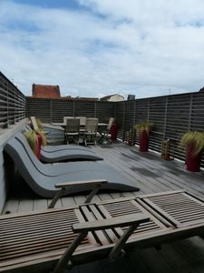 Photo for Triplex between sea market and St Jean street of 140m2