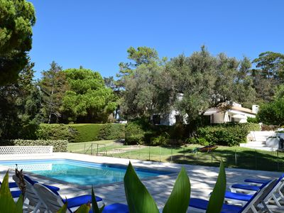 Photo for Large villa, quiet, private pool & near the beach
