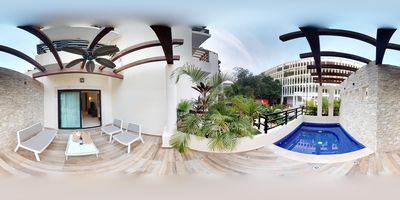 Photo for Luxury Studio +Private Pool +WIFI included great speed +Steps from Beach +5th