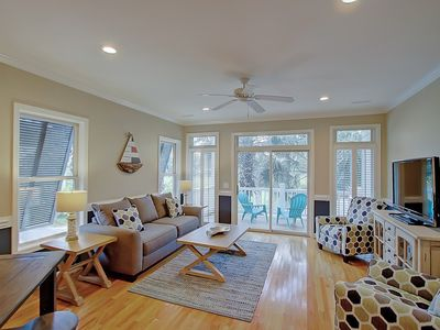 Photo for Lavish Townhome with Community Pool & Dock
