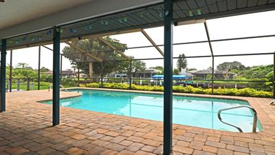 Photo for Discount off-season rates May-Sept. Saltwater Canal Pool Home on Klingler Circle