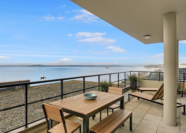 Luxury Living and Panoramic Puget Sound Views from the Top Floor!